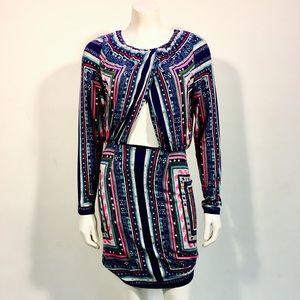 Mara Hoffman Printed Knee-Length Dress